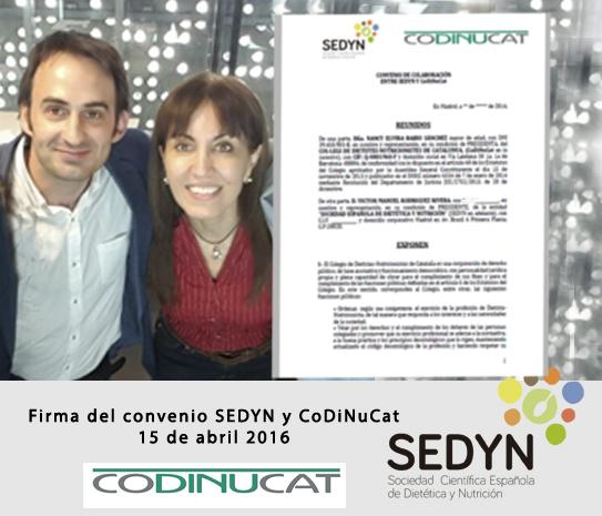 Convenio de colaboración con CoDiNuCat