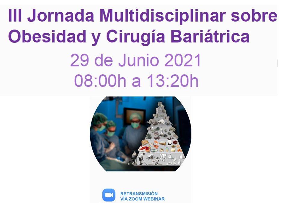 III Jornada Multidisciplinar sobre Obesidad y Cirugía Bariátrica